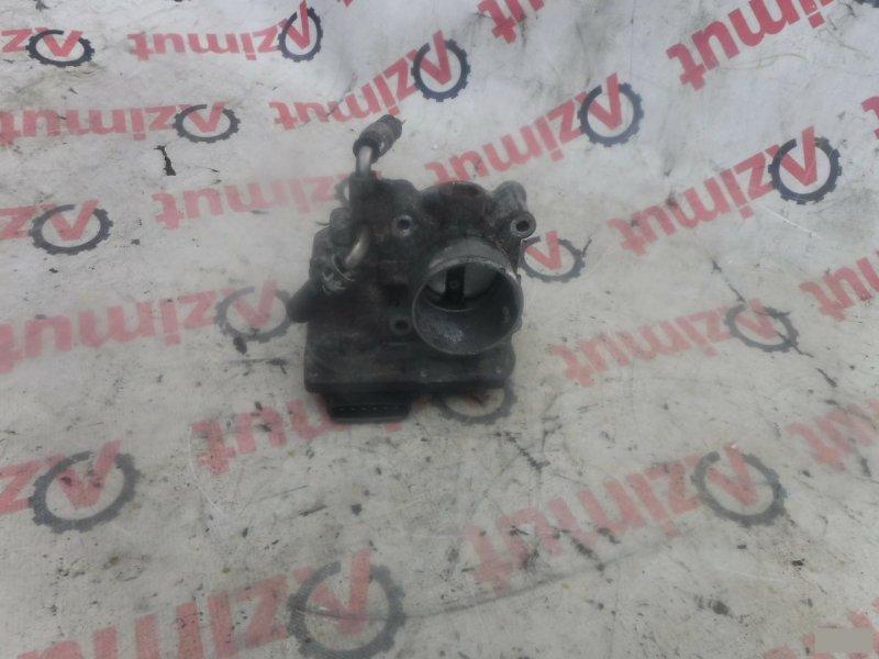Заслонка дроссельная Toyota Vitz NCP95 2NZFE (б/у) 145 2203021030