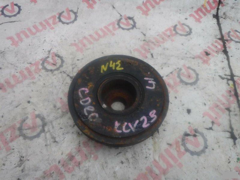 Шкив коленвала Nissan Serena KVNC23 CD20T (б/у)