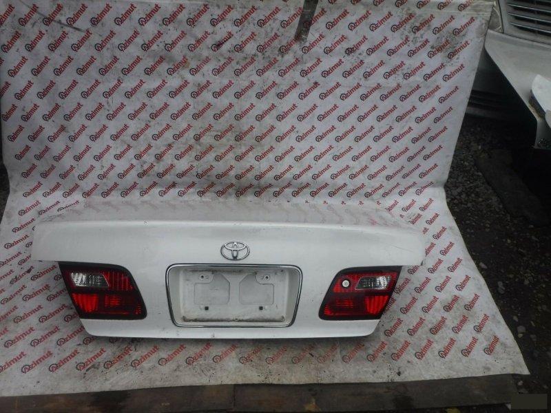 Крышка багажника Toyota Avalon MCX10 задняя (б/у) 222