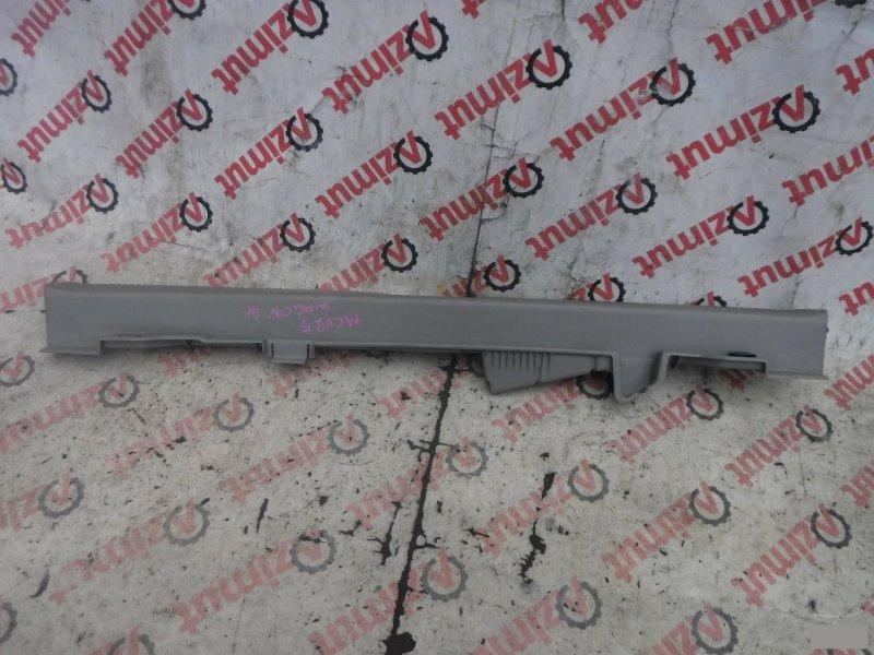 Накладка замка багажника Toyota Camry Gracia Wagon MCV25W задняя (б/у)
