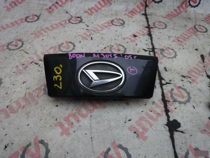 Ручка задней двери Daihatsu Boon M301S K3VE задняя (б/у)