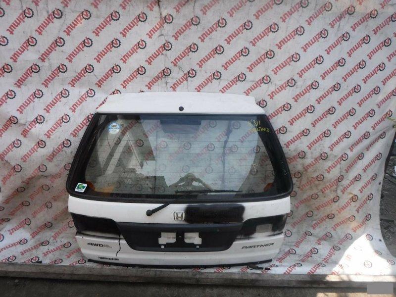 Дверь задняя Honda Partner EY8 задняя (б/у) 311