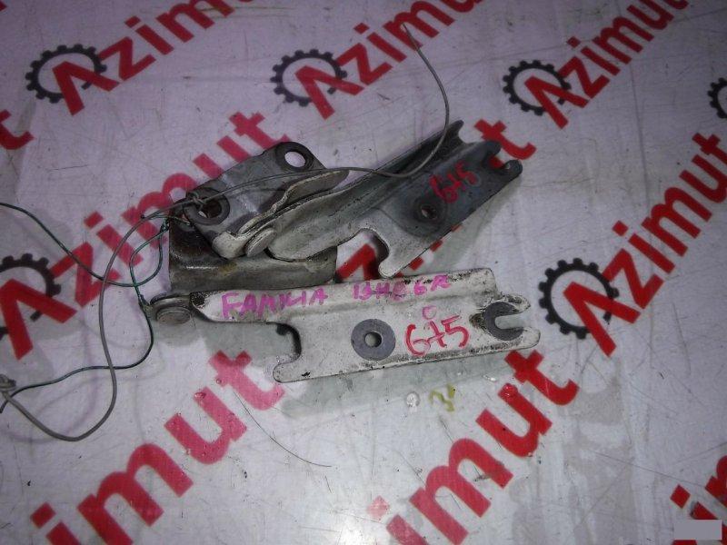 Петля капота Mazda Familia BHA6R передняя (б/у)