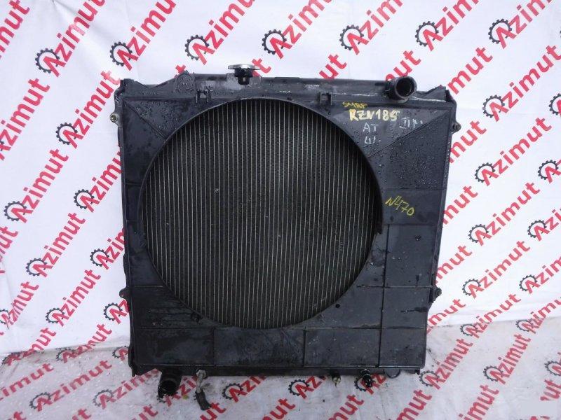 Радиатор основной Toyota Hilux Surf RZN185W 3RZFE (б/у)