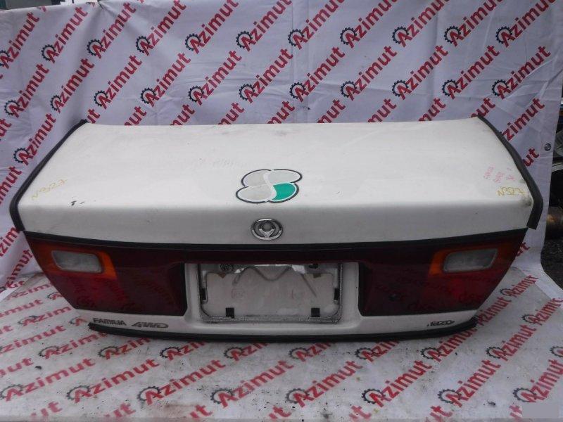 Крышка багажника Mazda Familia BHA6R 1996г задняя (б/у) 327