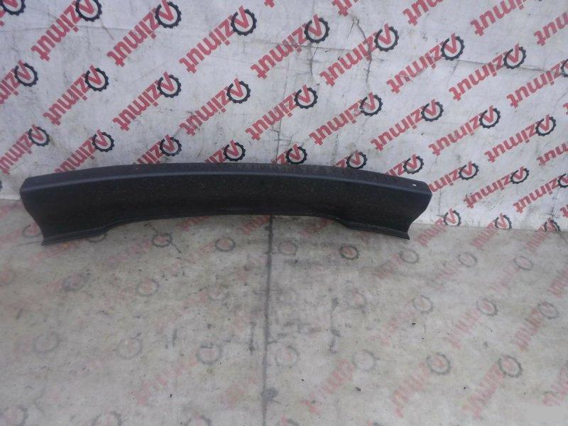 Накладка замка багажника Toyota Raum EXZ15 5EFE задняя (б/у)