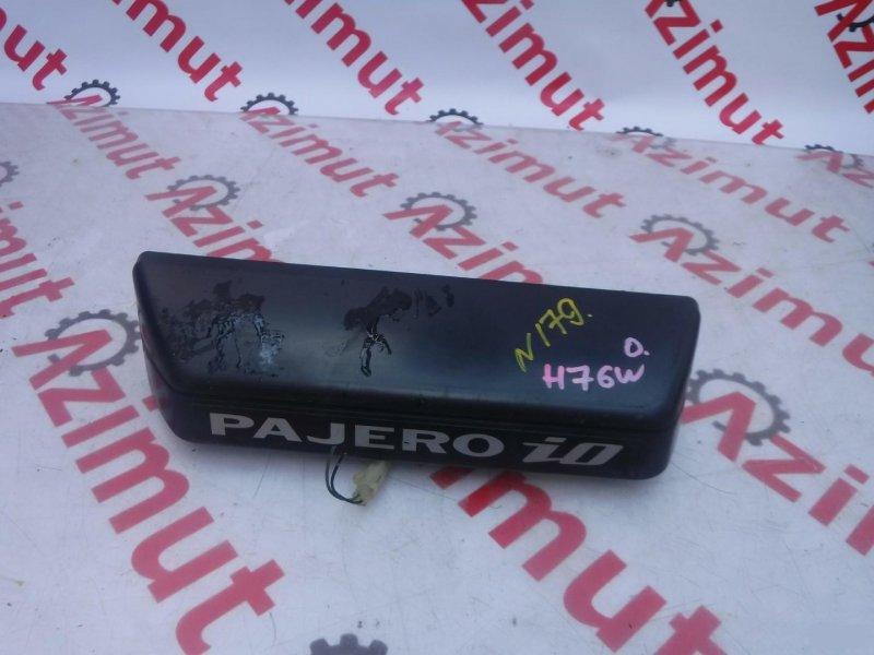 Ручка задней двери Mitsubishi Pajero Io H76W задняя (б/у) 179
