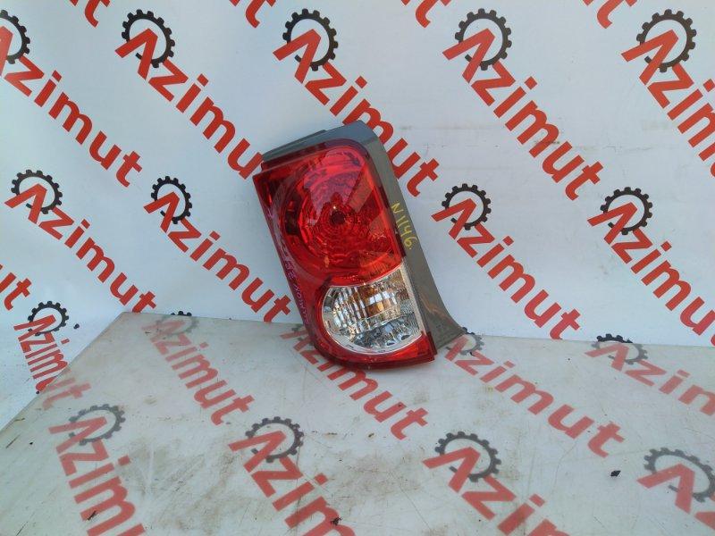 Стоп-сигнал Toyota Corolla Rumion ZRE154H левый (б/у) 1146 1254