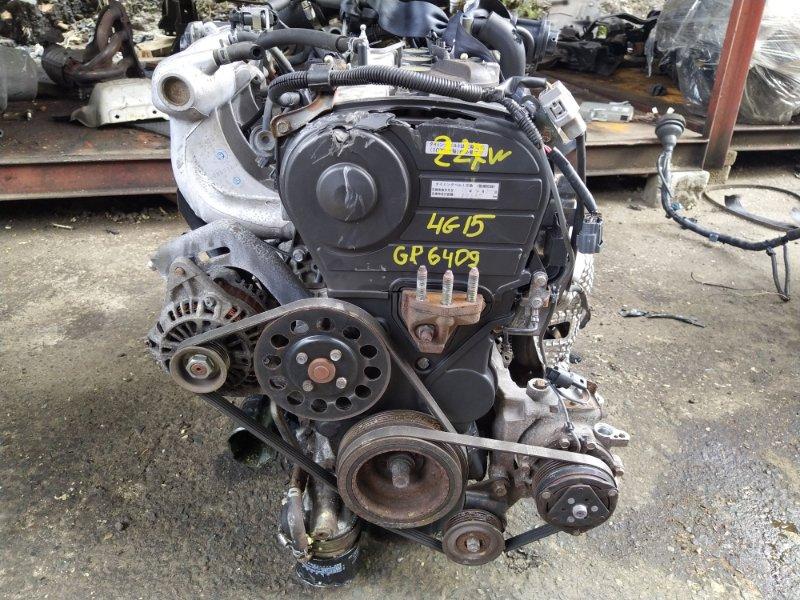 Двигатель Mitsubishi Colt Plus Z27W 4G15T 2005 (б/у) GP6409