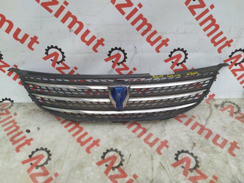 Решетка радиатора Toyota Mark Ii Blit GX110 передняя (б/у) 53101-22550