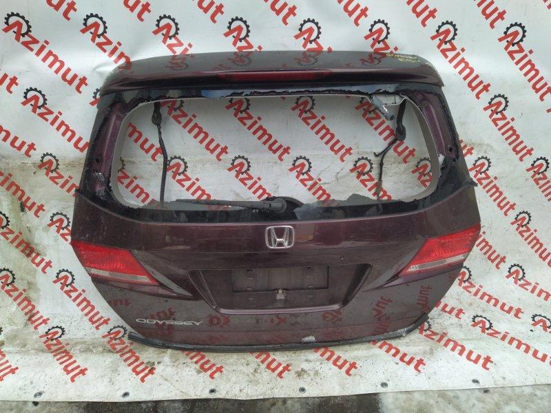 Дверь задняя Honda Odyssey RB4 K24A 2009 (б/у)