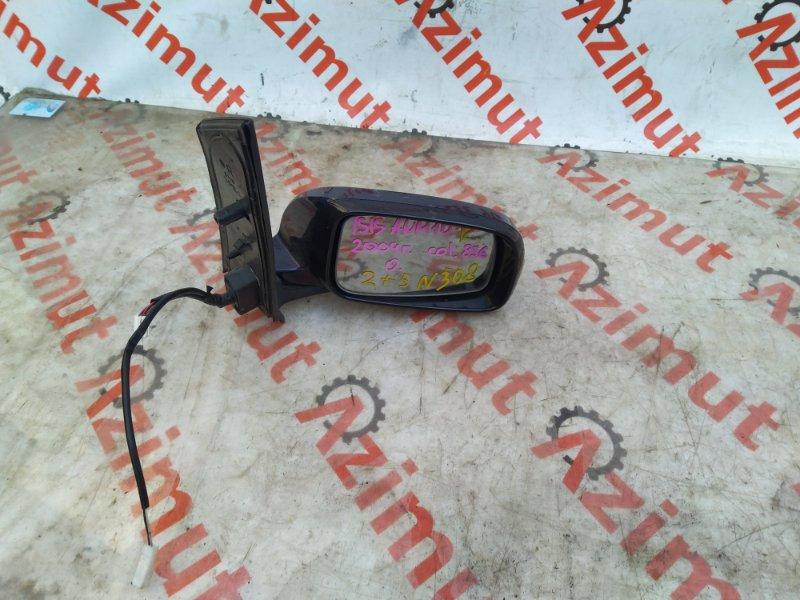 Зеркало Toyota Isis ANM10G 1AZFSE 2008 правое (б/у) 308