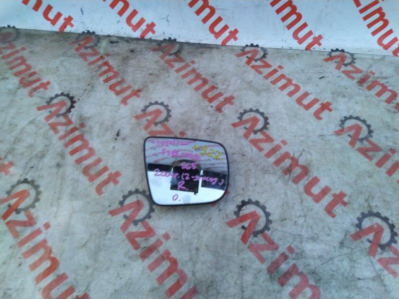 Зеркало-полотно Subaru Forester SG5 EJ202DX 2004 правое (б/у) 322