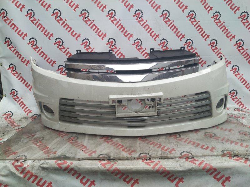Бампер Nissan Lafesta B30 2008 передний (б/у) 109