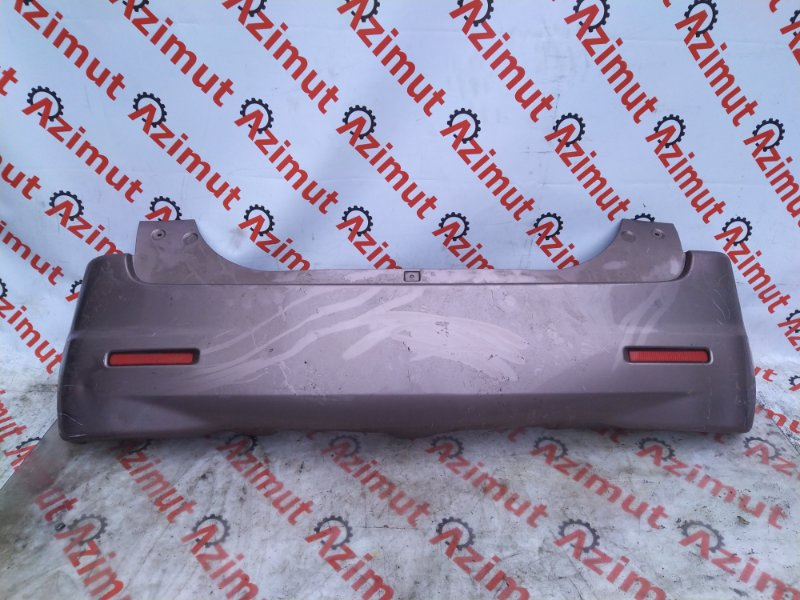 Бампер Suzuki Solio MA15S 2011 задний (б/у) 519