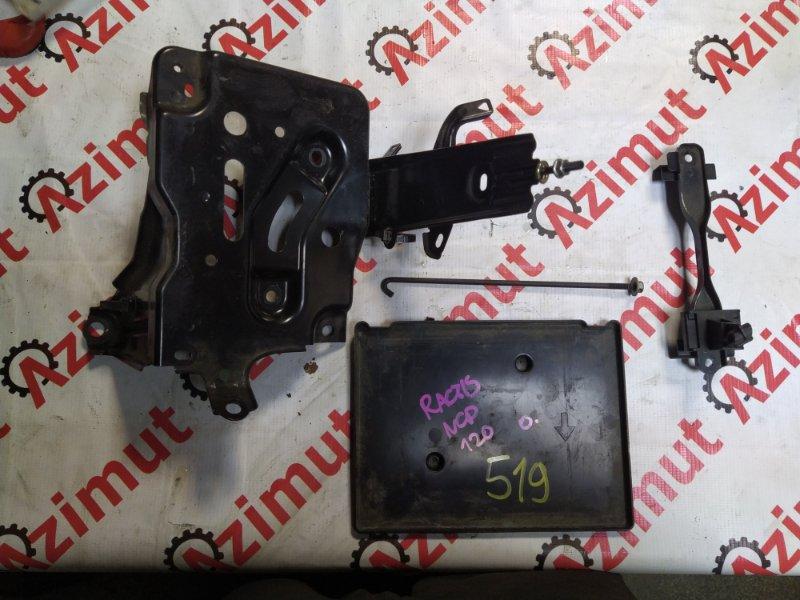 Подставка под аккумулятор Toyota Ractis NCP120 1NZFE 2010 (б/у) 519