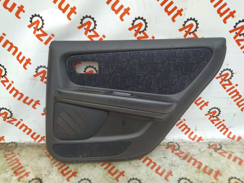 Обшивка дверей Toyota Mark Ii JZX100 1999 задняя правая (б/у) 50