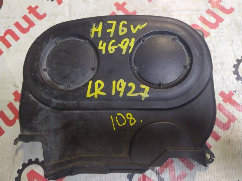 Крышка лобовины Mitsubishi Pajero Io H76W 4G93 (б/у) 108