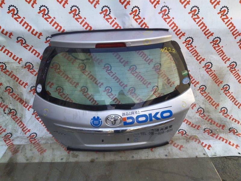 Дверь задняя Toyota Vitz KSP130 1KR-FE 2014 (б/у) 222