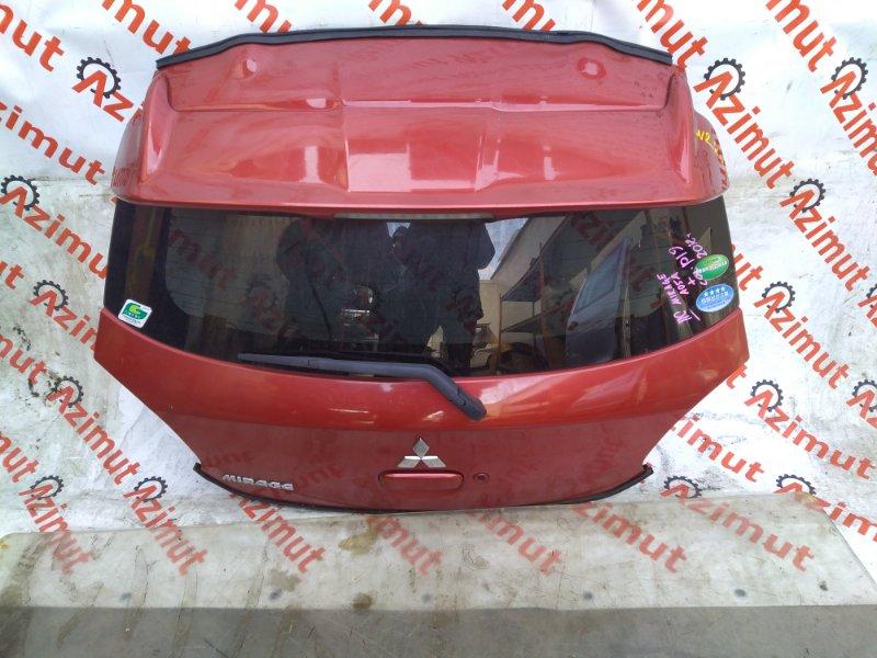 Дверь задняя Mitsubishi Mirage A05A 3A90 2012 (б/у) 224