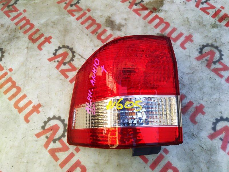 Стоп-сигнал Toyota Alphard ATH10 2AZ-FXE правый (б/у) 58-4