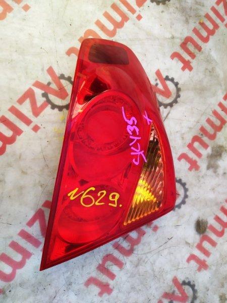 Стоп-сигнал Nissan Skyline HV35 левый (б/у) 629 220-63790