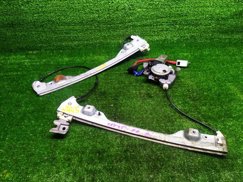Стеклоподъемник Nissan Skyline NV35 (б/у) 445