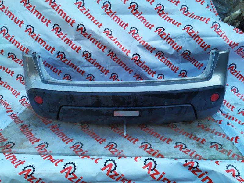 Бампер Nissan Dualis NJ10 MR20DE 2007 задний (б/у) 835/2