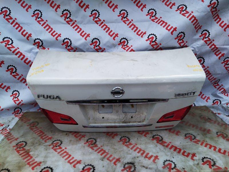 Крышка багажника Nissan Fuga PY50 VQ35HR 2008 (б/у)