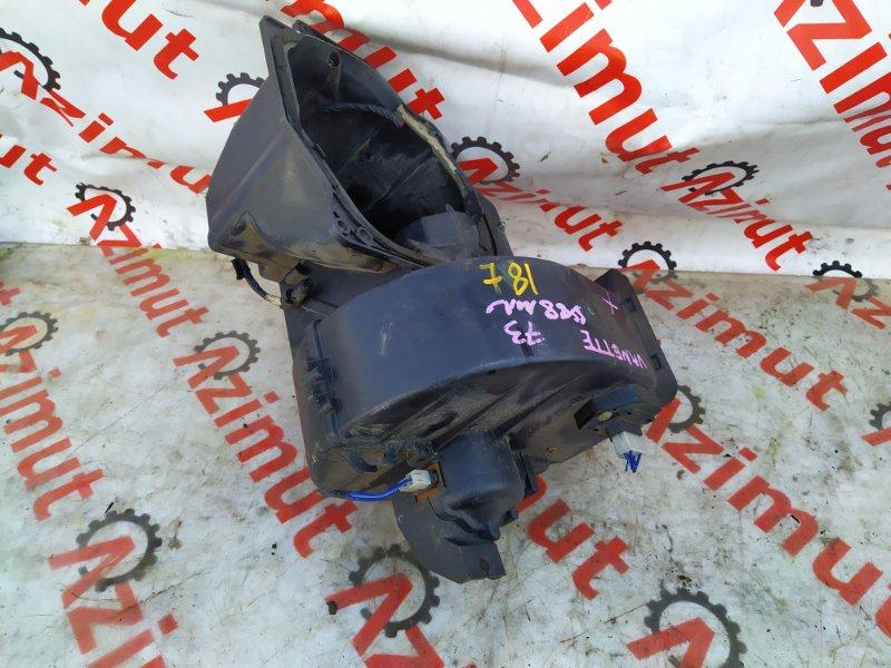 Мотор печки Mazda Vanette SE88MN F8E 2004 (б/у) 781
