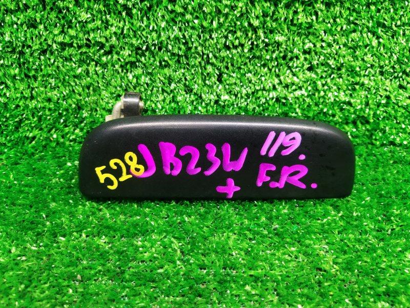 Ручка двери внешняя Suzuki Jimny JB23W K6A-T 2002 правая (б/у) 528