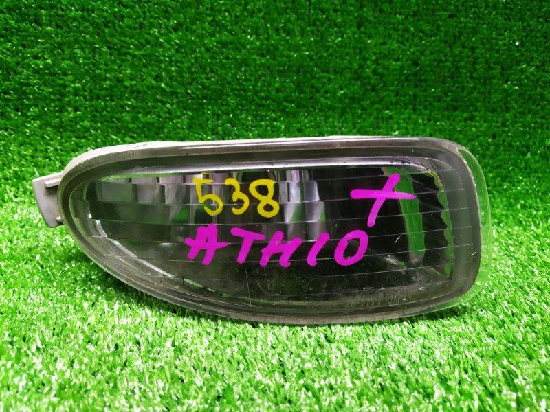 Туманка Toyota Alphard ATH10 правая (б/у) 28-175