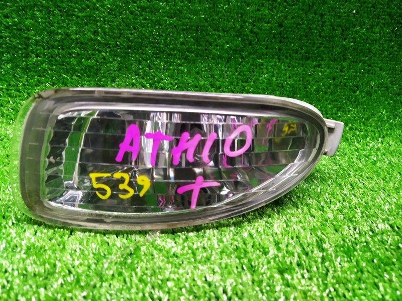 Туманка Toyota Alphard ATH10 левая (б/у) 28-175