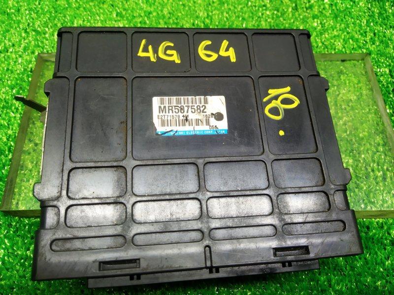 Блок управления efi Mitsubishi Pajero Io H77W 4G94 2001 (б/у) 18 MR507582