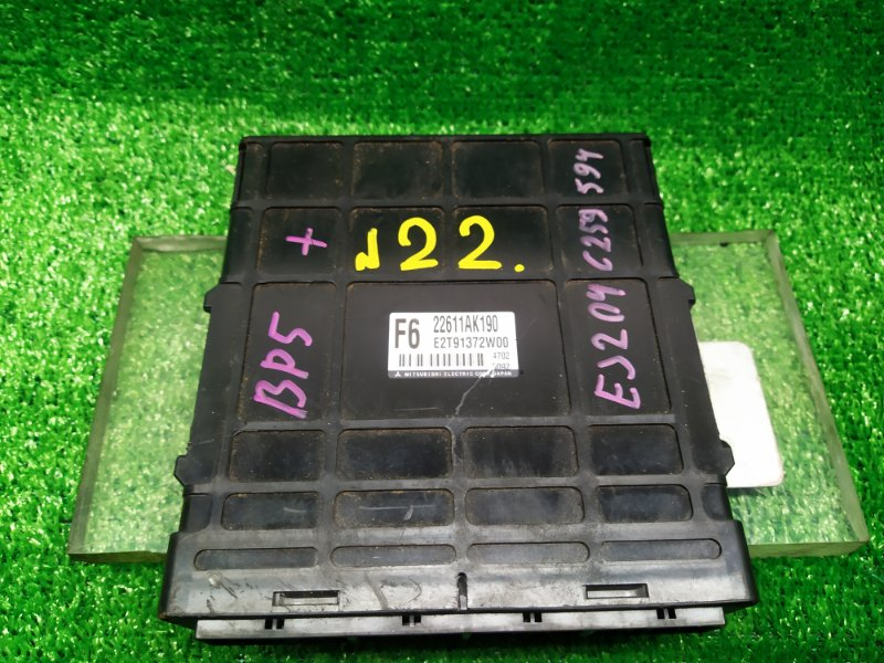 Блок управления efi Subaru Legacy BP5 EJ204DP (б/у) 22 22611 AK190