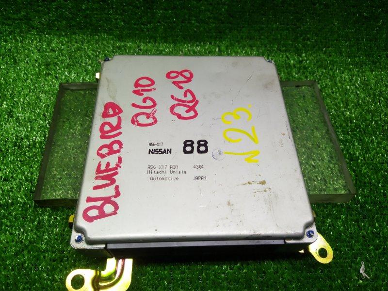 Блок управления efi Nissan Bluebird Sylphy QG10 QG18DE (б/у) 23 A56-X17