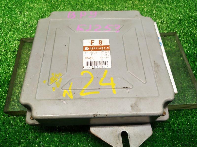 Блок управления efi Subaru Outback BP9 EJ253HP (б/у) 24 22611AK210