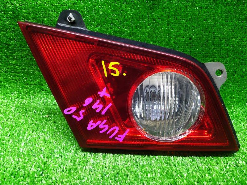 Стоп-вставка Nissan Fuga PNY50 VQ35DE 2006 левая (б/у) 132-63786