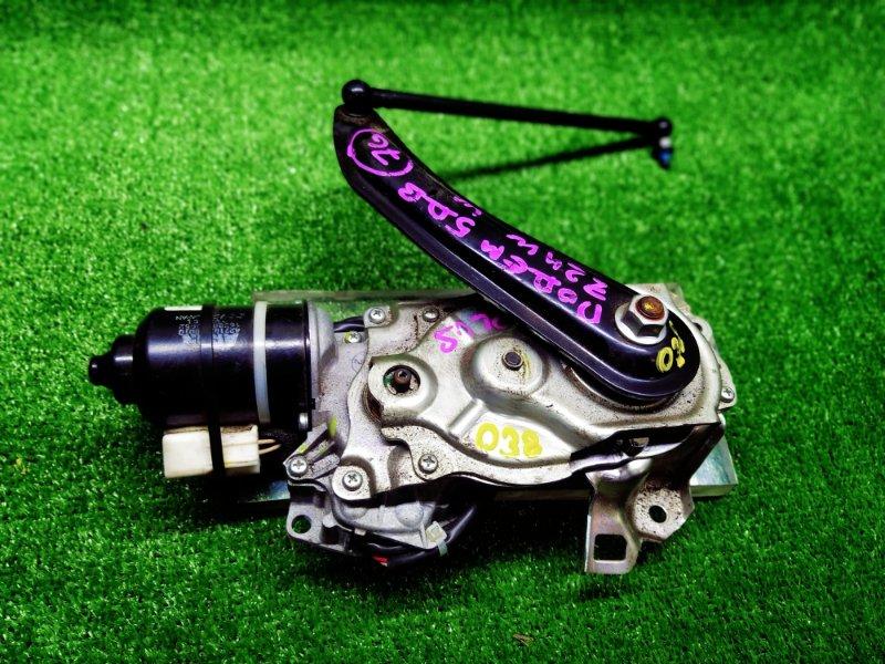 Мотор дворников Mitsubishi Colt Plus Z24W 4A91 2009 задний (б/у)