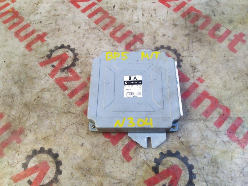 Блок управления efi Subaru Legacy BP5 EJ20YD (б/у) 304 22611AH110