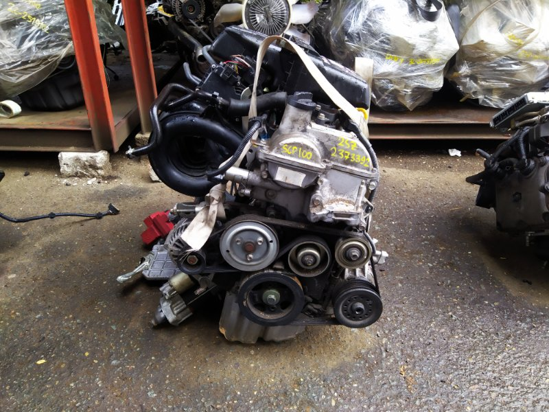 Двигатель Toyota Ractis SCP100 2SZFE 2009 (б/у) 2373392