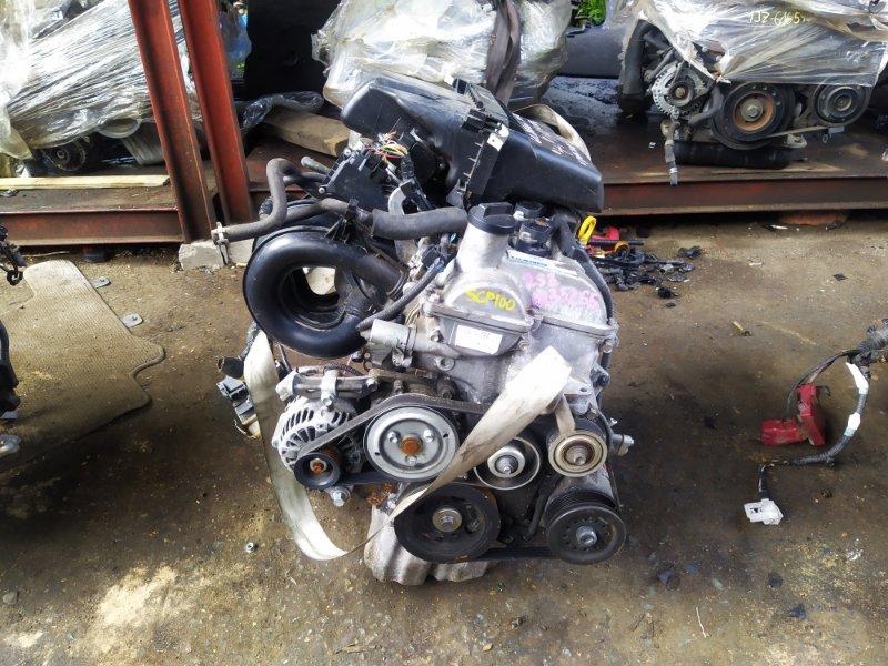 Двигатель Toyota Ractis SCP100 2SZFE 2007 (б/у) 1835265