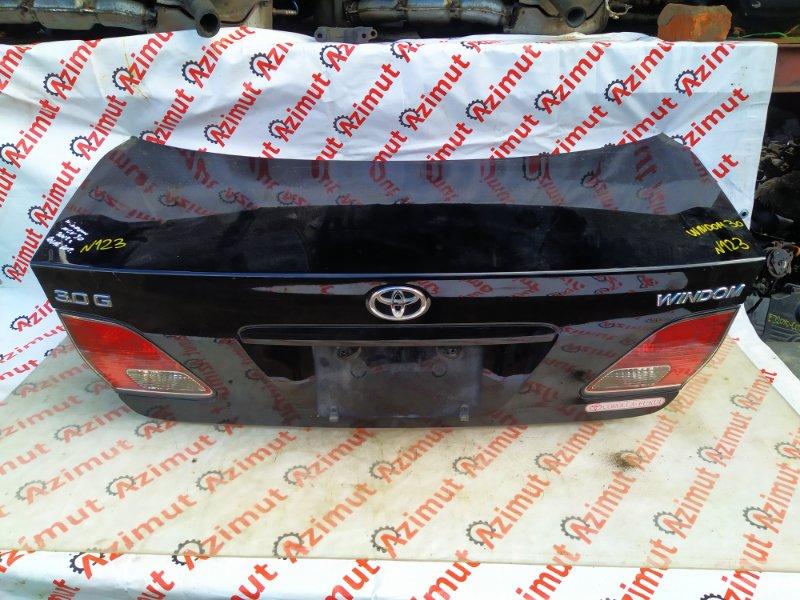 Крышка багажника Toyota Windom MCV30 2002 (б/у) 123