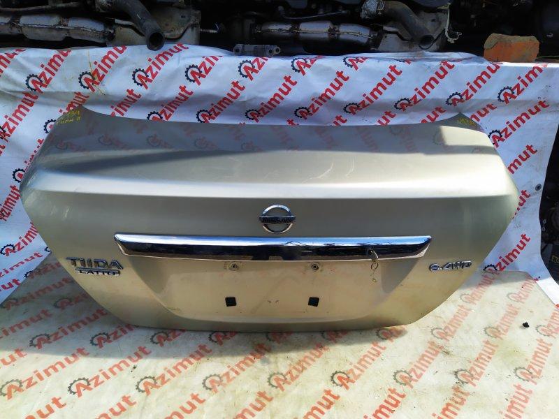 Крышка багажника Nissan Tiida Latio SC11 2006 (б/у) 134