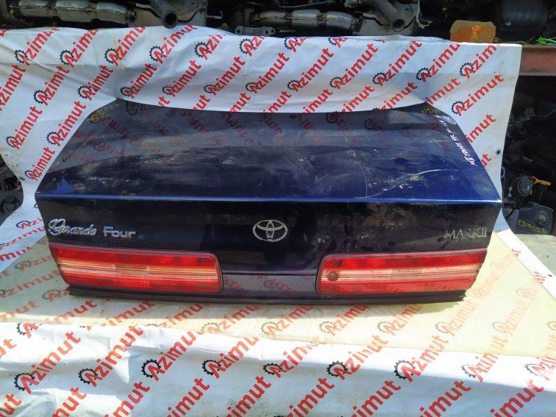 Крышка багажника Toyota Mark Ii JZX105 1JZGE 1998 (б/у)