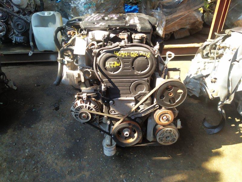 Двигатель Mitsubishi Pajero Io H77W 4G94 2004 (б/у) QR7418