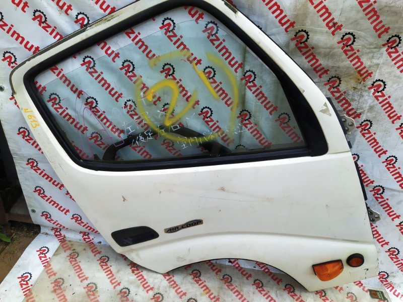 Дверь Hino Dutro XZU695 N04CT 2013 передняя правая (б/у) 613