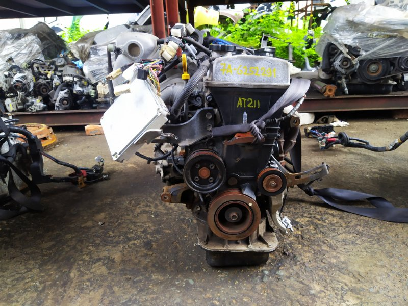 Двигатель Toyota Premio AT211 7AFE 1996 (б/у) G252291