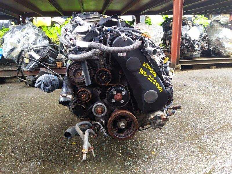Двигатель Toyota Hiace KDH206V 1KDFTV 2012 (б/у) 2221364