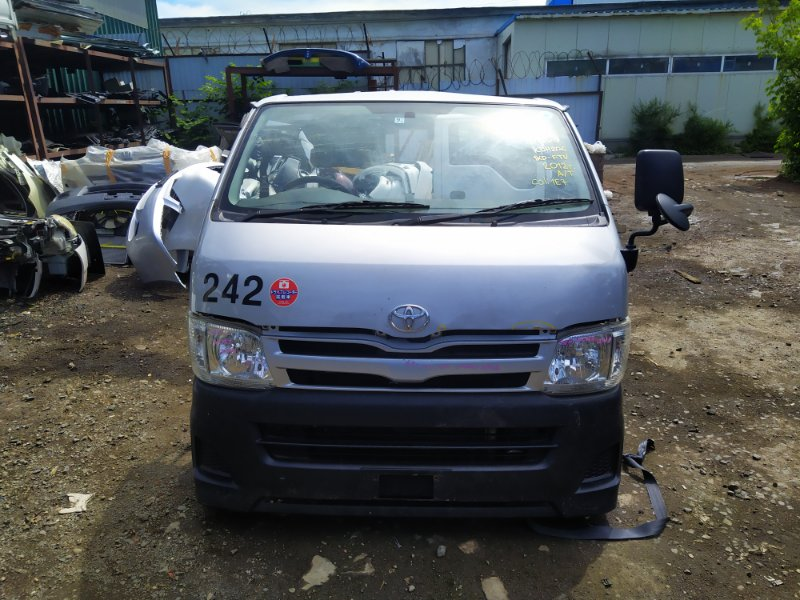 Nose cut Toyota Hiace KDH206V 1KDFTV 2012 (б/у) 100